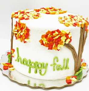 Happy fall cake