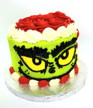 Load image into Gallery viewer, Santa Grinch cake