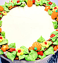 Load image into Gallery viewer, Thanksgiving wreath cake