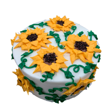 Load image into Gallery viewer, sunflower cake