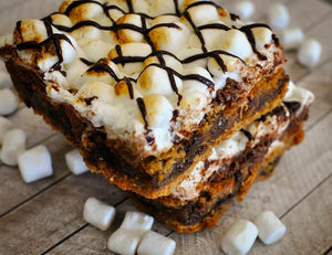 cookie dough s'mores brownie