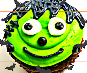 Halloween cupcakes regular size