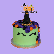 Load image into Gallery viewer, Halloween Unicorn Cake