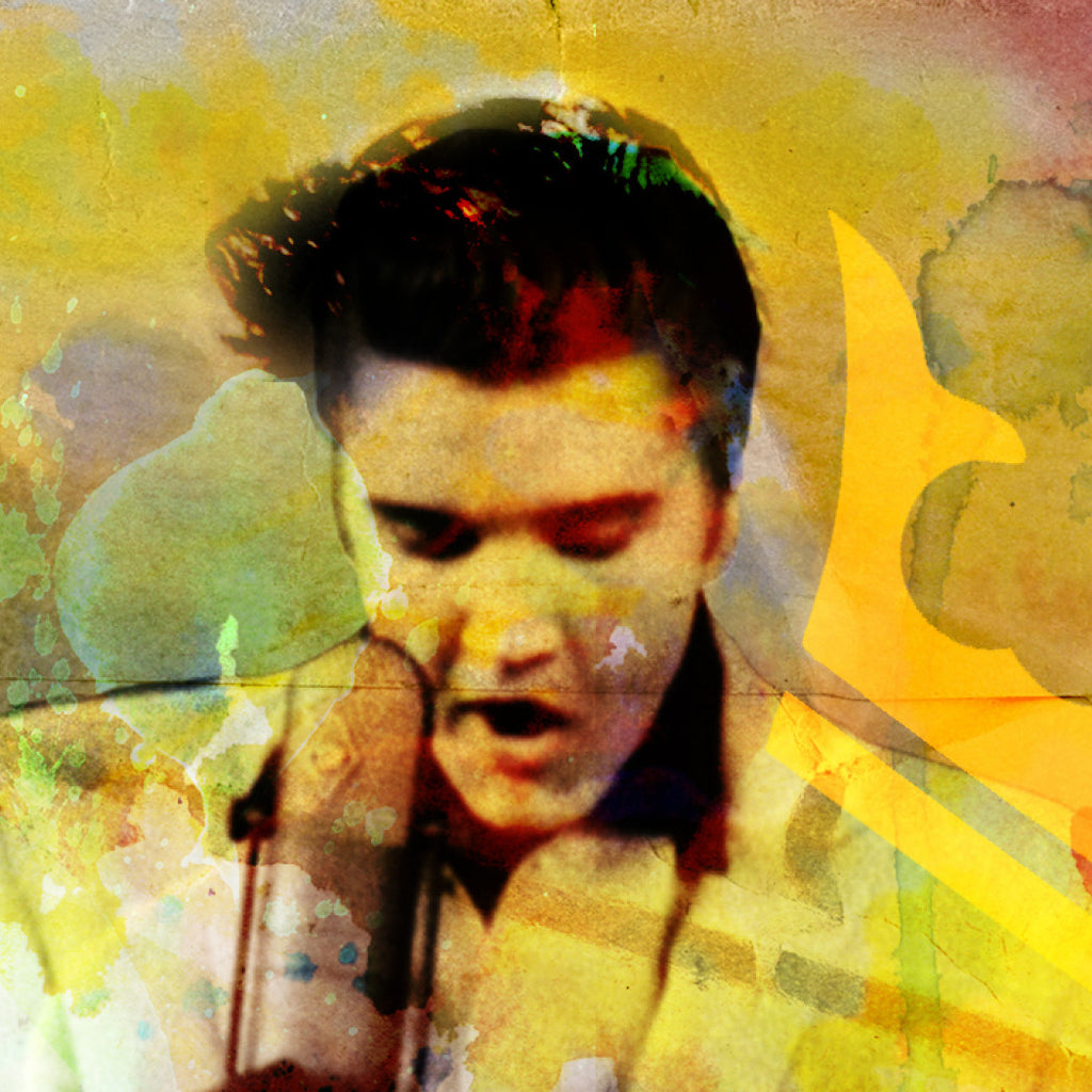 Elvis Presley Art | Rockchromatic