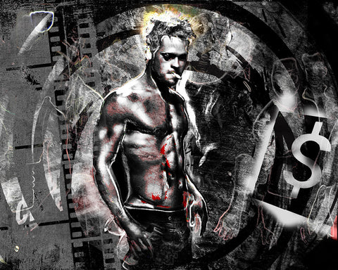 Fight Club Art - Brad Pitt