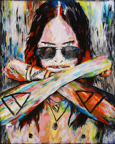 Jared Leto Art - Thirty Seconds to Mars