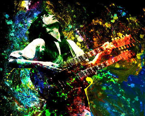Jimmy Page Art - Led Zeppelin