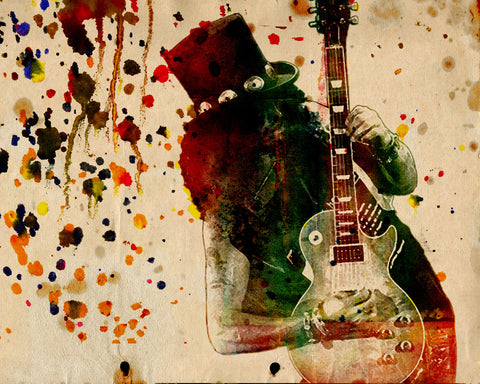 Slash Art - Guns n Roses