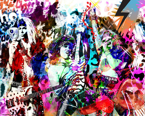 Steel Panther Art