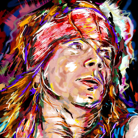 Axl Rose Art - Guns n' Roses