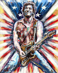 Bruce Springsteen Art