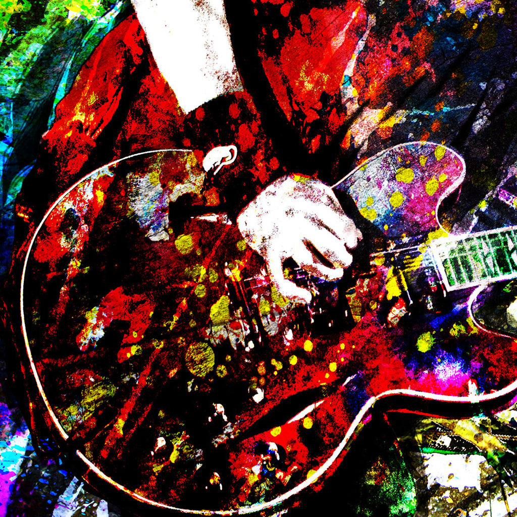 Dave Grohl Art Nirvana Foo Fighters Rockchromatic