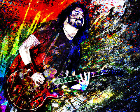 Dave Grohl Art - Nirvana, Foo Fighters