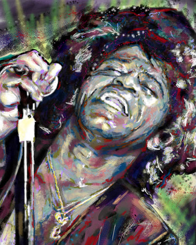 James Brown Art