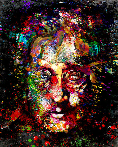 John Lennon Art - The Beatles