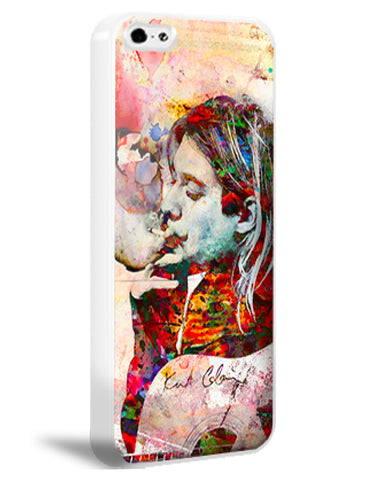 Kurt Cobain iPhone 6 Case, Nirvana iPhone 5s, 5c