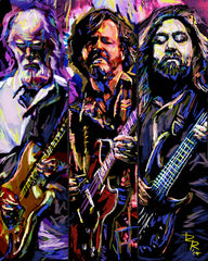 Widespread Panic Art - Jimmy Herring, John Bell, Dave Schools