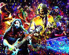 Widespread Panic Art - Red Rocks
