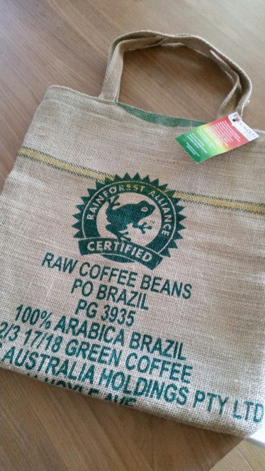 Recycled coffee bags put to good use for a good cause, Endeavour Foundation