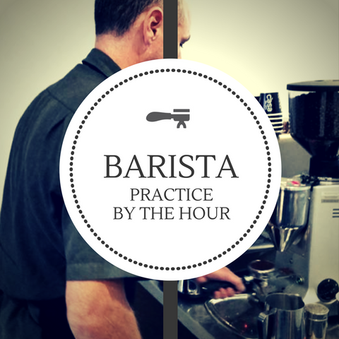 Barista experience and practice for jobs