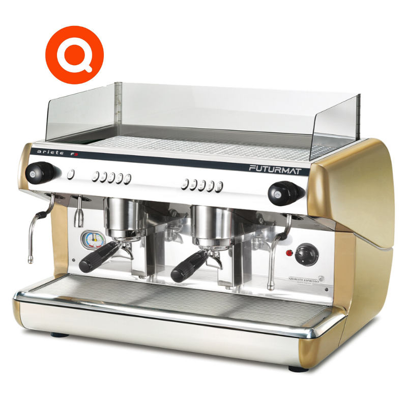 Quality Espresso Futurmat F3 commercial coffee machine 2 group