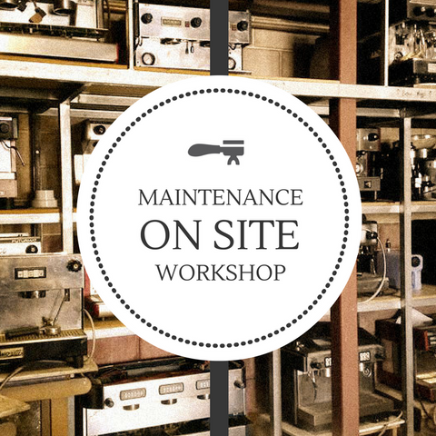 Coffee Machine Maintenance workshop courses