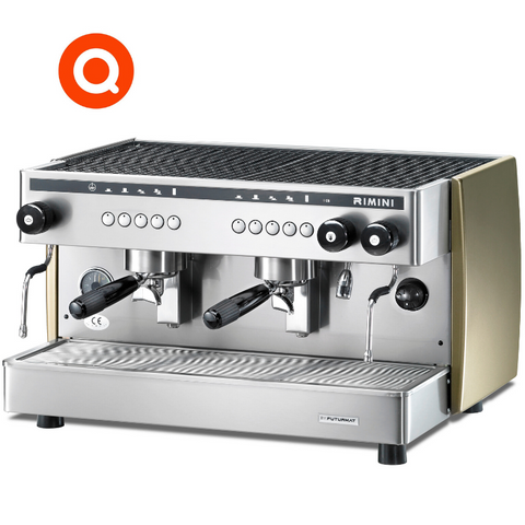 Quality Espresso Futurmat Rimini 2 Group commercial coffee machine
