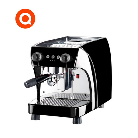Quality Espresso Ruby Office 1 group espresso machine produces Barista quality coffee for the home or office