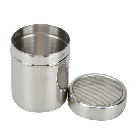 Stainless Steel chocolate shaker for cappuccino topping