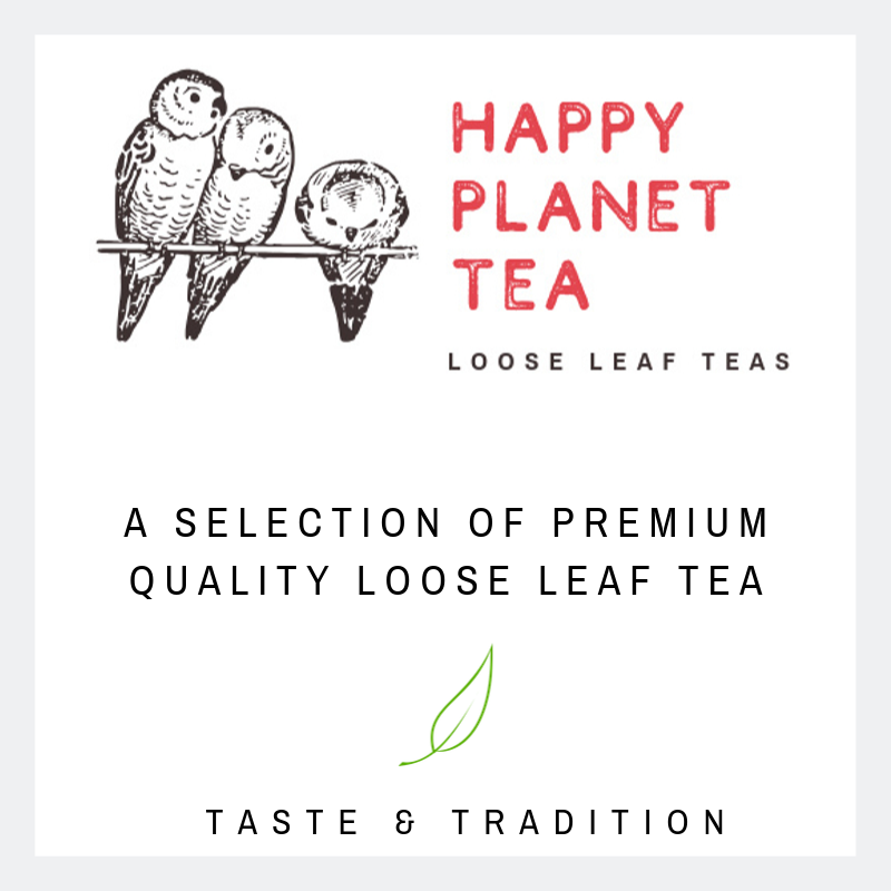 Premium Quality Loose Leaf Tea, plastic free