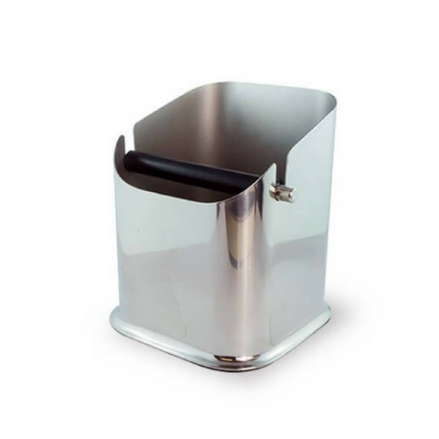 Used coffee grind bin, Incafe, stainless steel