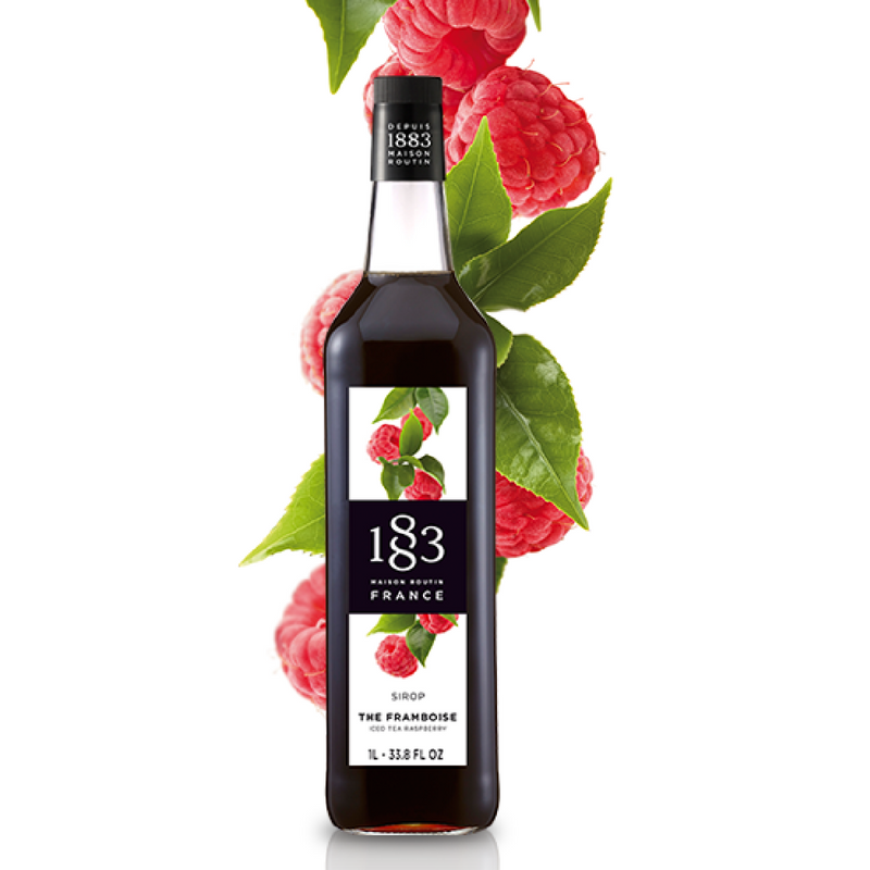 1883 Maison Routin Tea Syrups, Raspberry