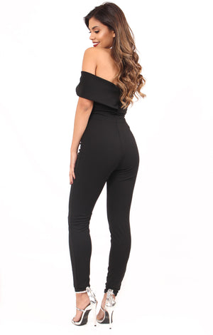 Sabrina Off the Shoulder Jumpsuit