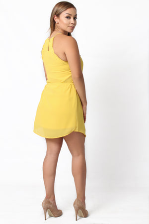 Marlene Scallop Dress