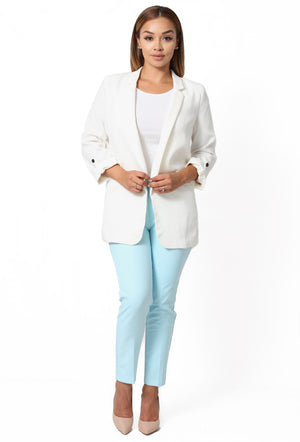 Anne Ankle Pants - Light Blue