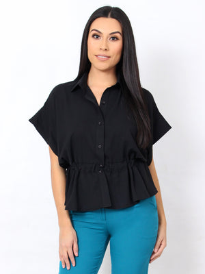 I Mean Business Top - Black