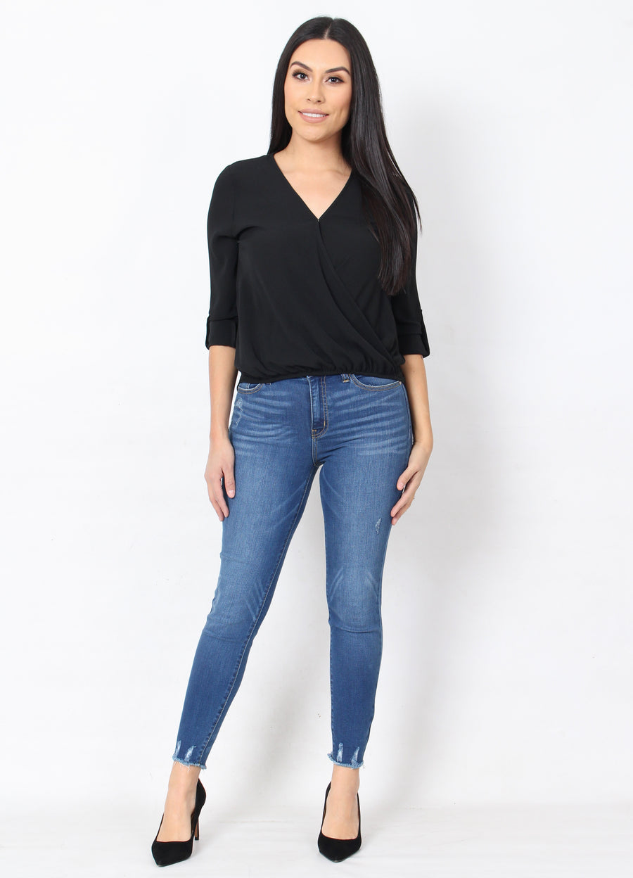 Not So Basic Top - Black