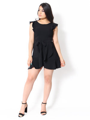 Posh Dress -Black