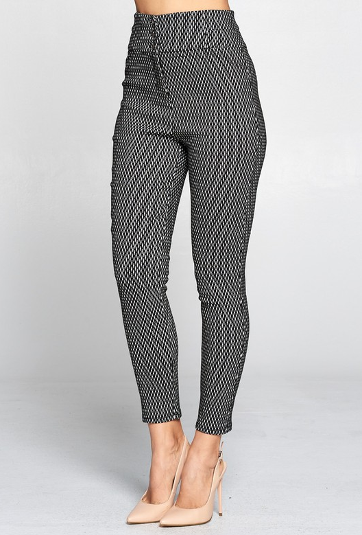 Boss Lady High Waist Pants