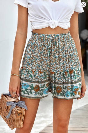 Cabo Floral Shorts