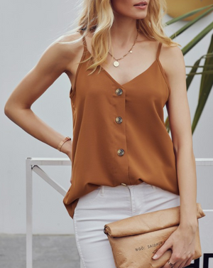 One And Only Button Top