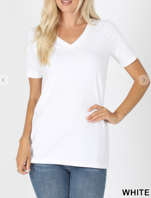 Go To V-Neck Tee (more colors)
