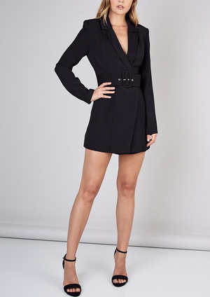 Business & Pleasure Romper Dress (more colors)