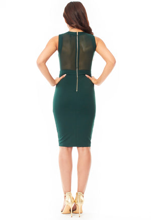 Esther Emerald Dress