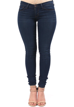 3D Resin Soft Wash Denim Skinny