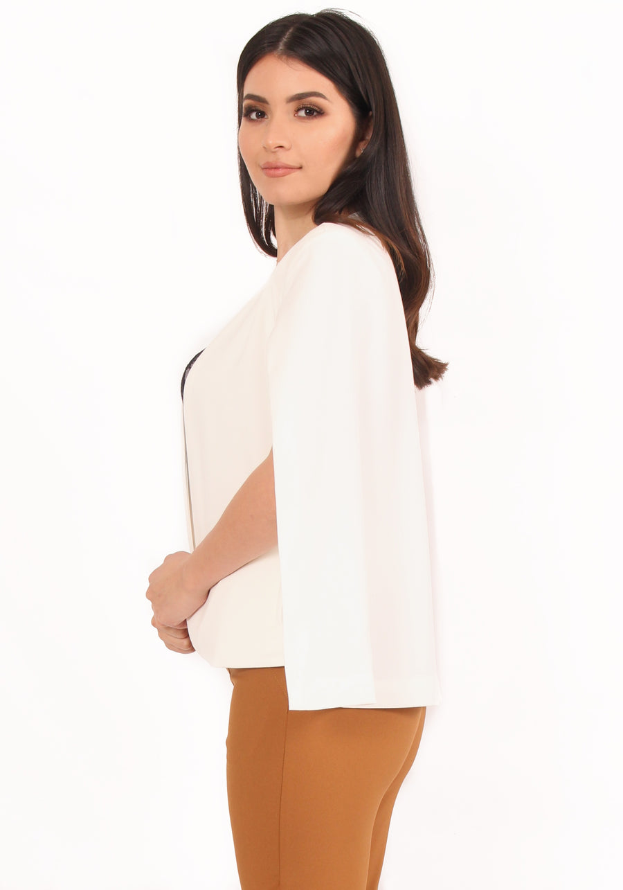 Barbara Cape Blazer