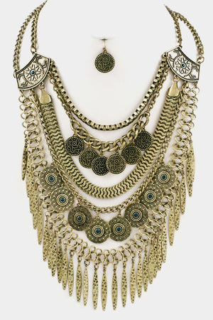 Coin Necklace Set