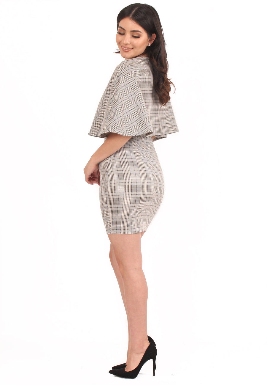 Claire Cape Dress