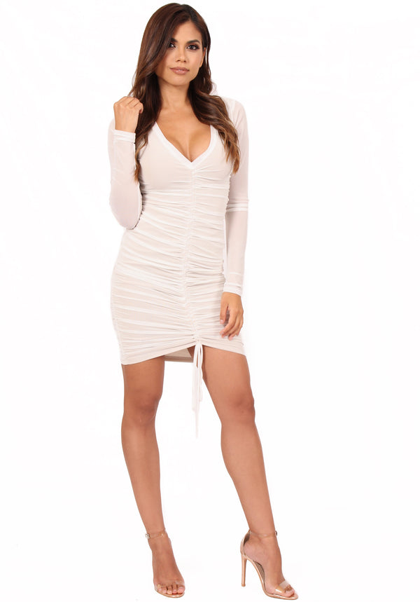 Melissa Ruched Dress