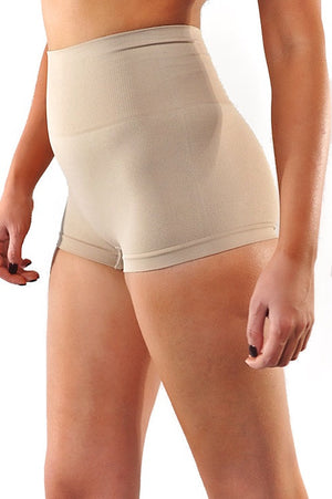 Medium Waist Seamless Shorts